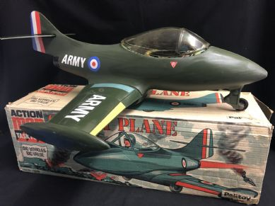 VINTAGE ACTION MAN - COMBAT PLANE -  BOXED ULTRA RARE